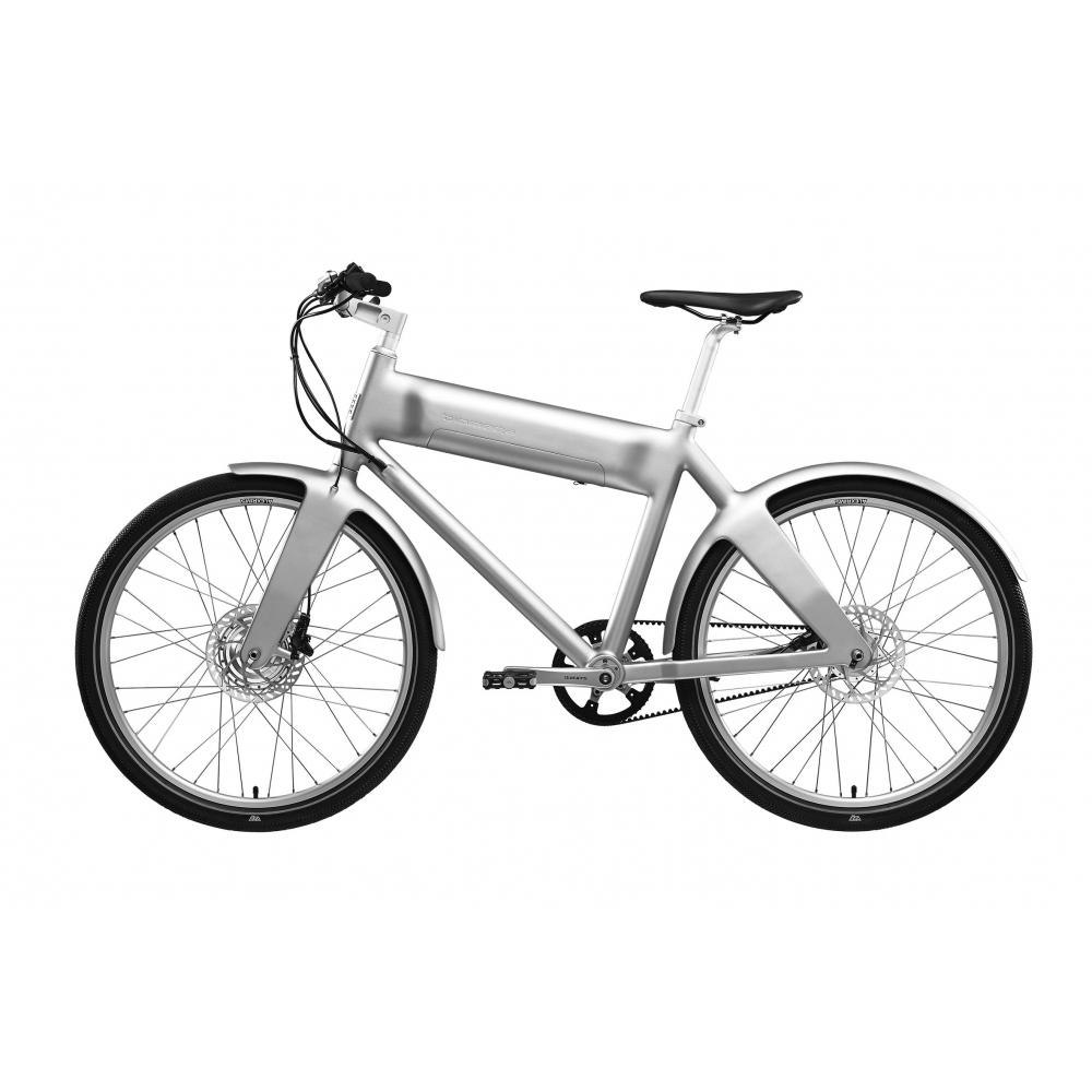OKO 2 speed El-cykel Biomega Silver