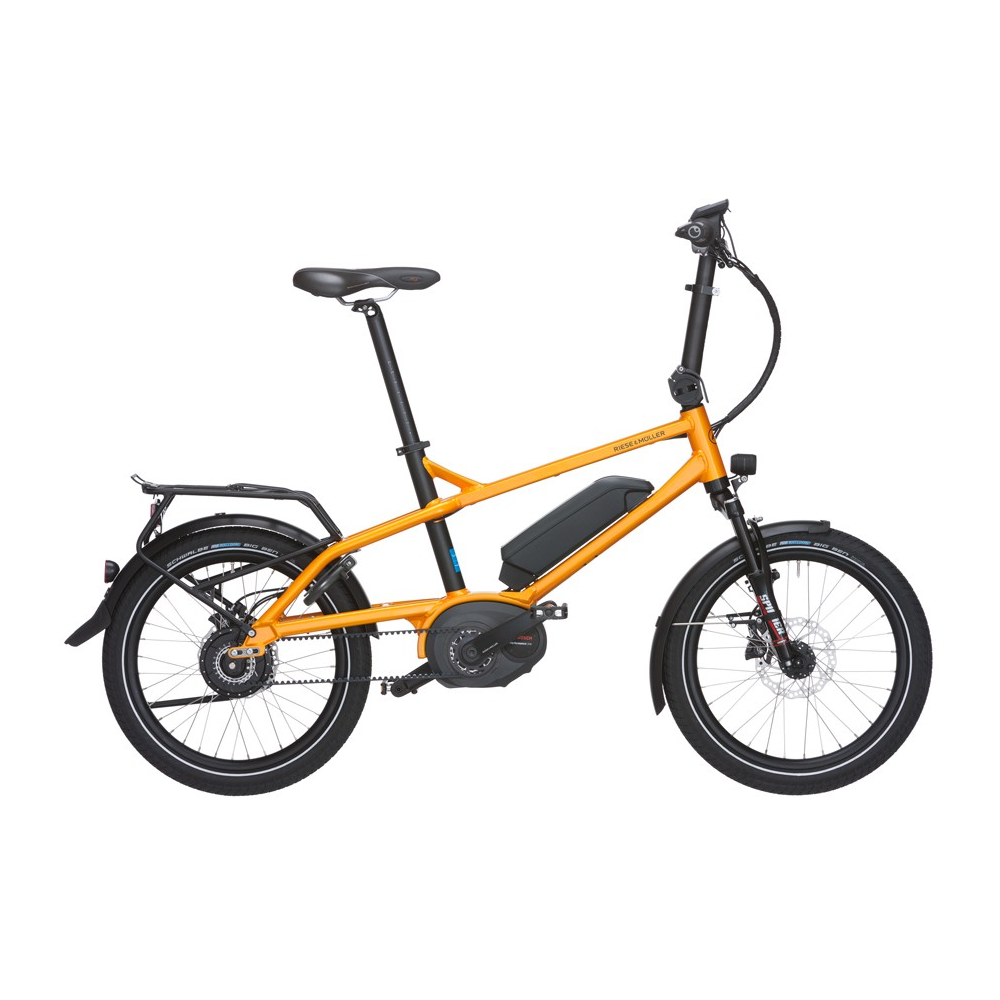 Tinker NuVinci, kompakt El-cykel, Riese & Müller