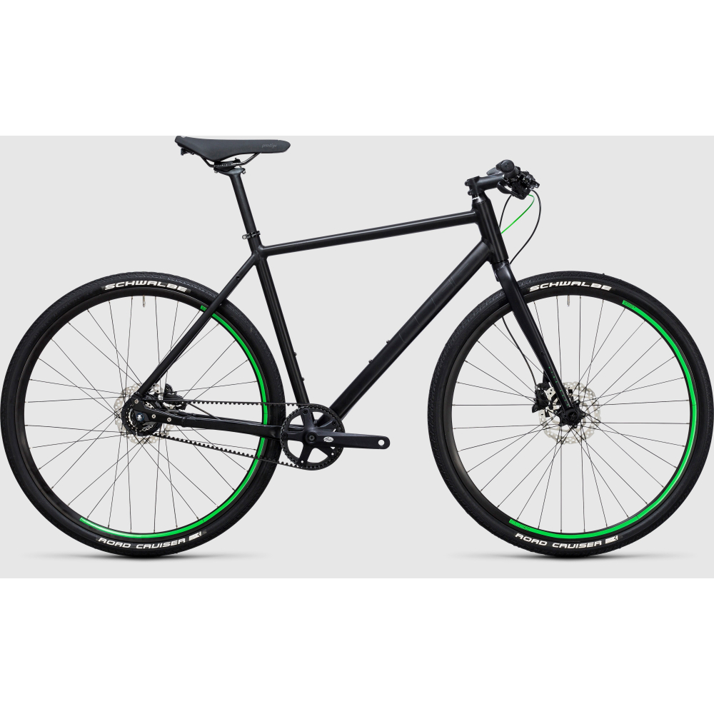 CUBE Hyde Race 8 gear black´n´green 2019