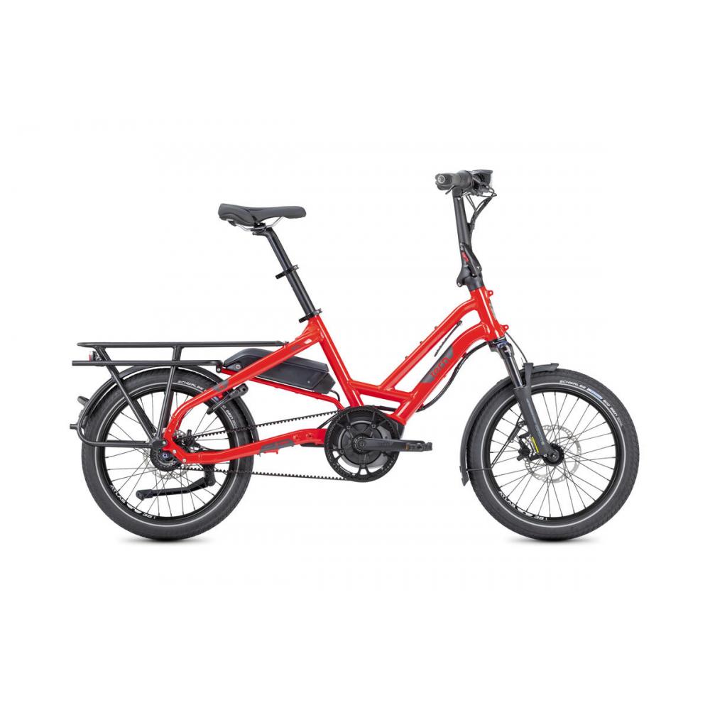 Tern HSD S8i, Foldecykel med remtræk og El-motor