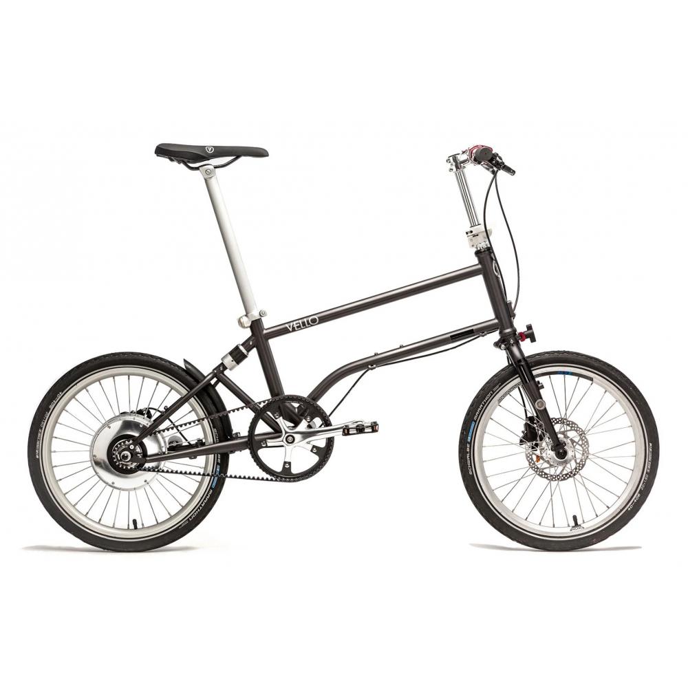 Vello Bike+ Speed Drive Foldecykel med remtræk og el-motor