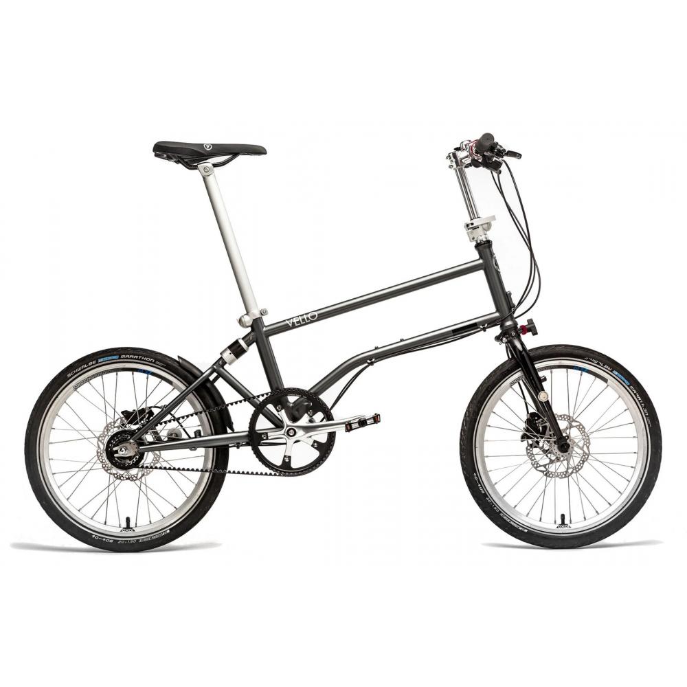 Vello foldecykel med Gates remtræk