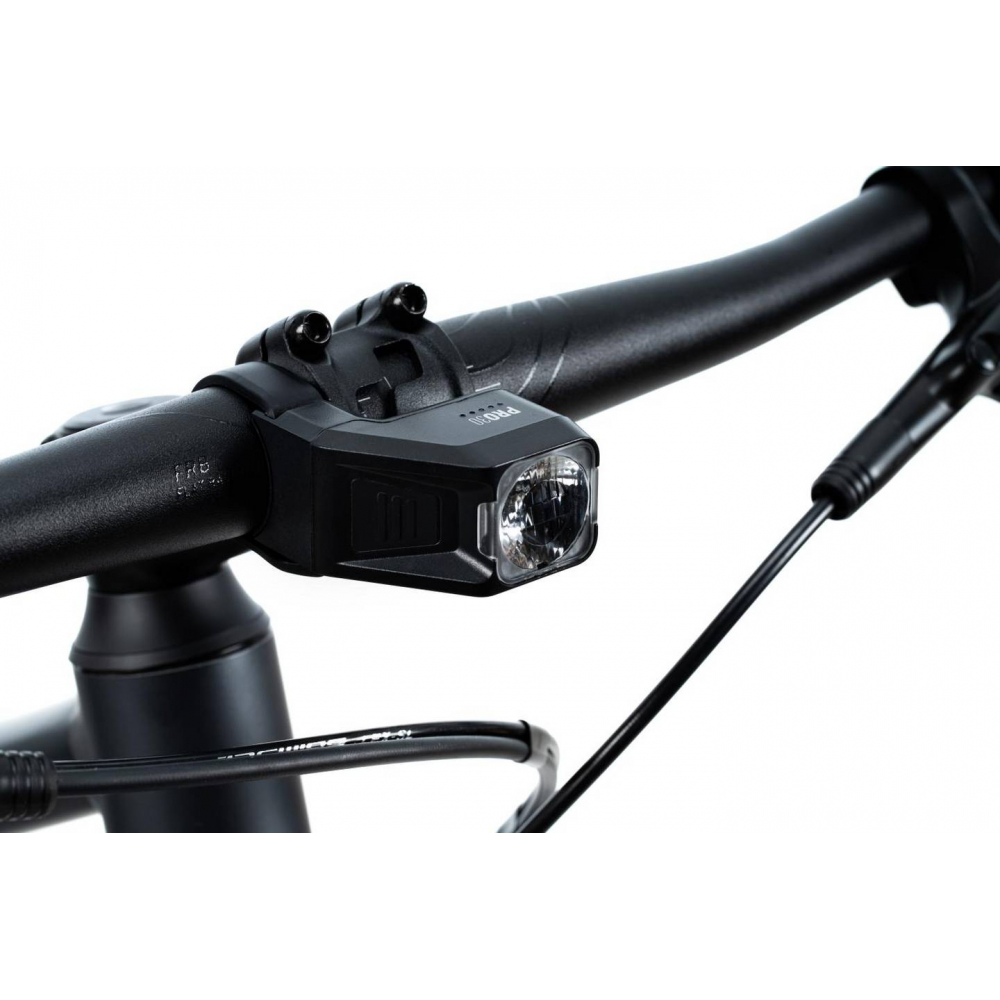 CUBE cykellygter fra ACID, Pro 30 cykellygtesæt til din cykel med remtræk